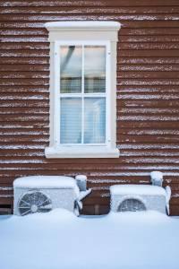 HVAC snow