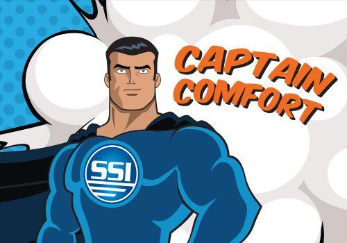 captain comfort
