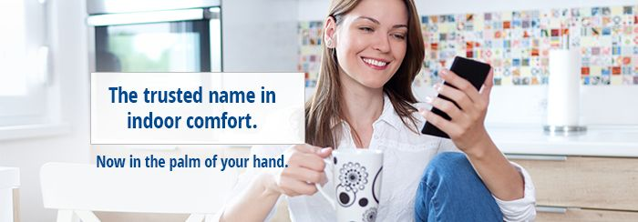 trusted name in indoor comfort graphic