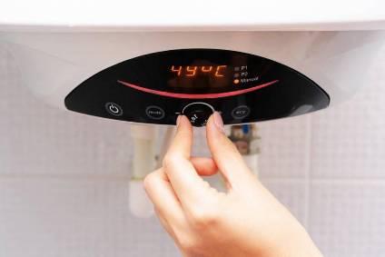 hot water temperature